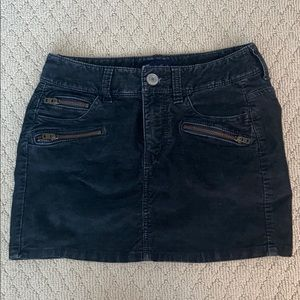 American Eagle Outfitters Black corduroy skirt